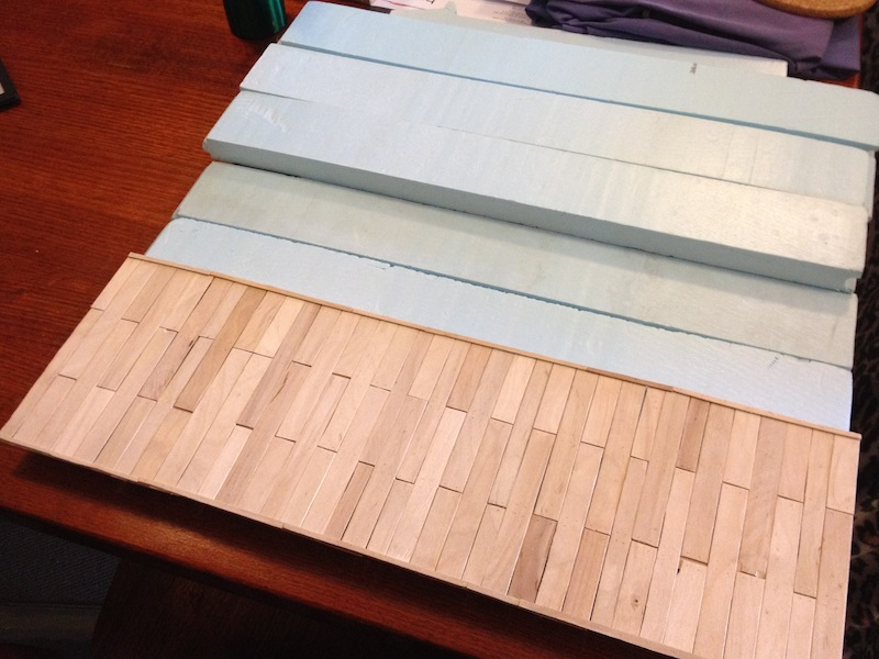 River Dock table – part 4