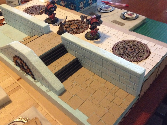 River Dock table – part 7