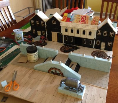 River Dock table – part 14