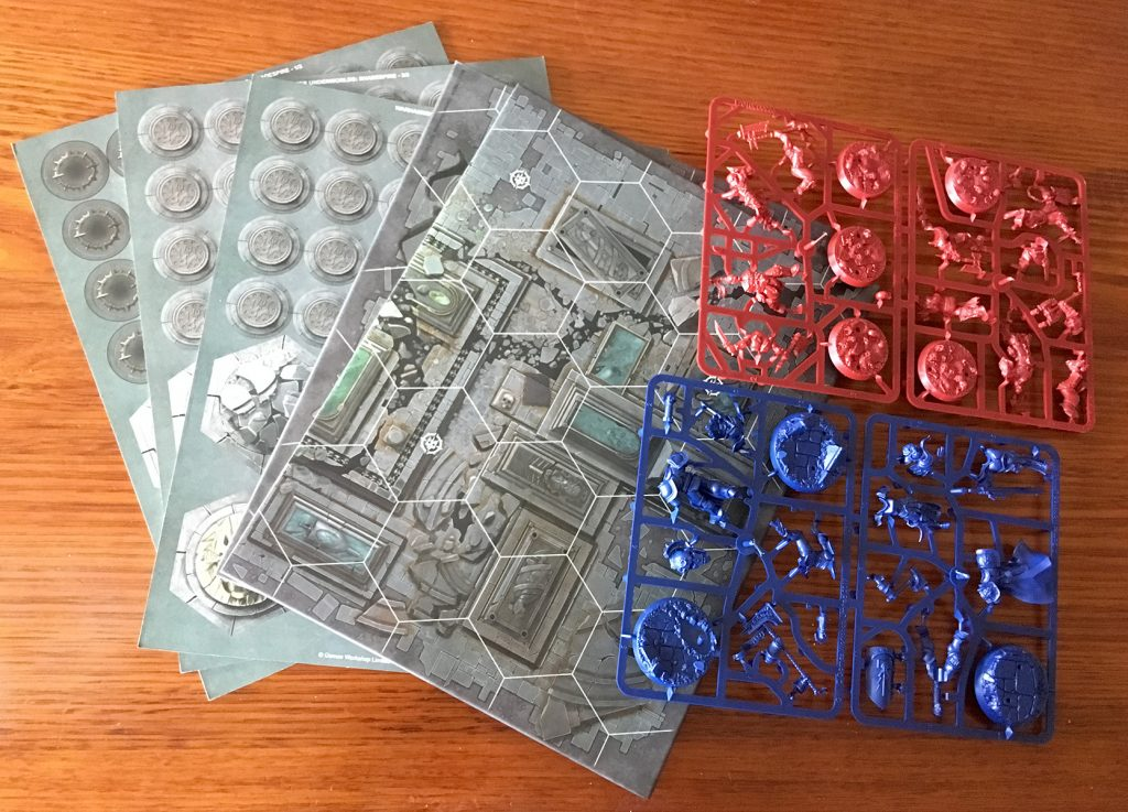 Shadespire board and sprues