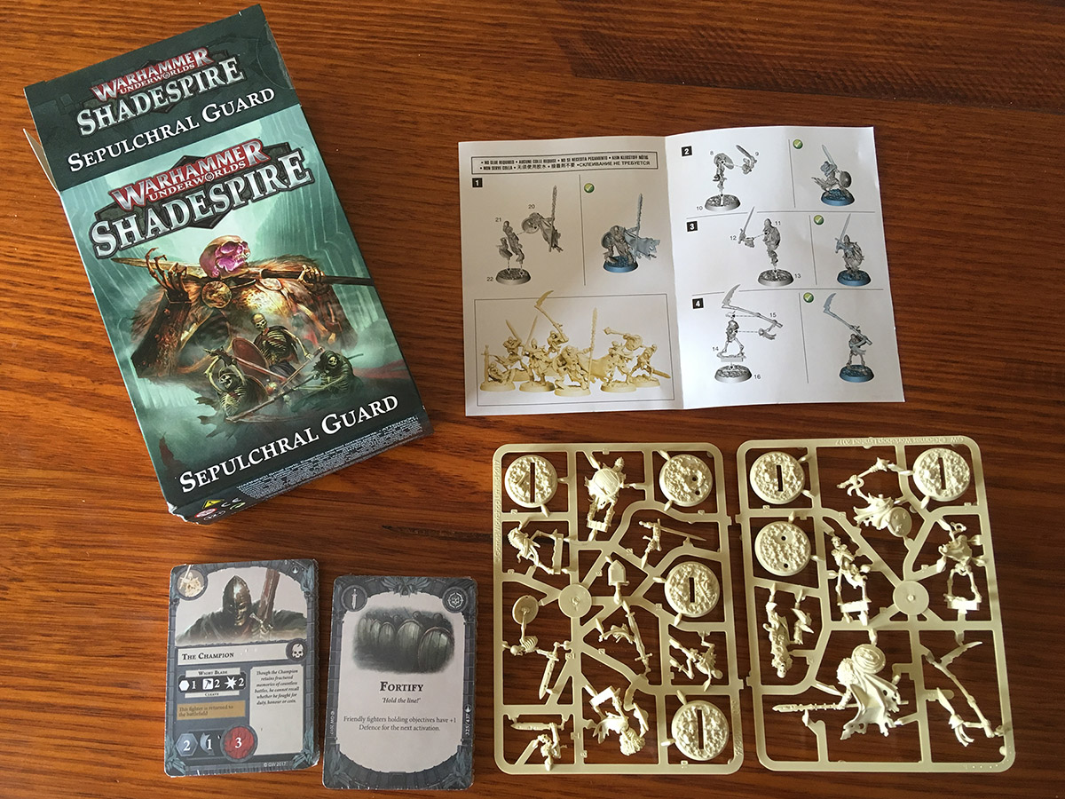 Shadespire: Sepulchral Guard review