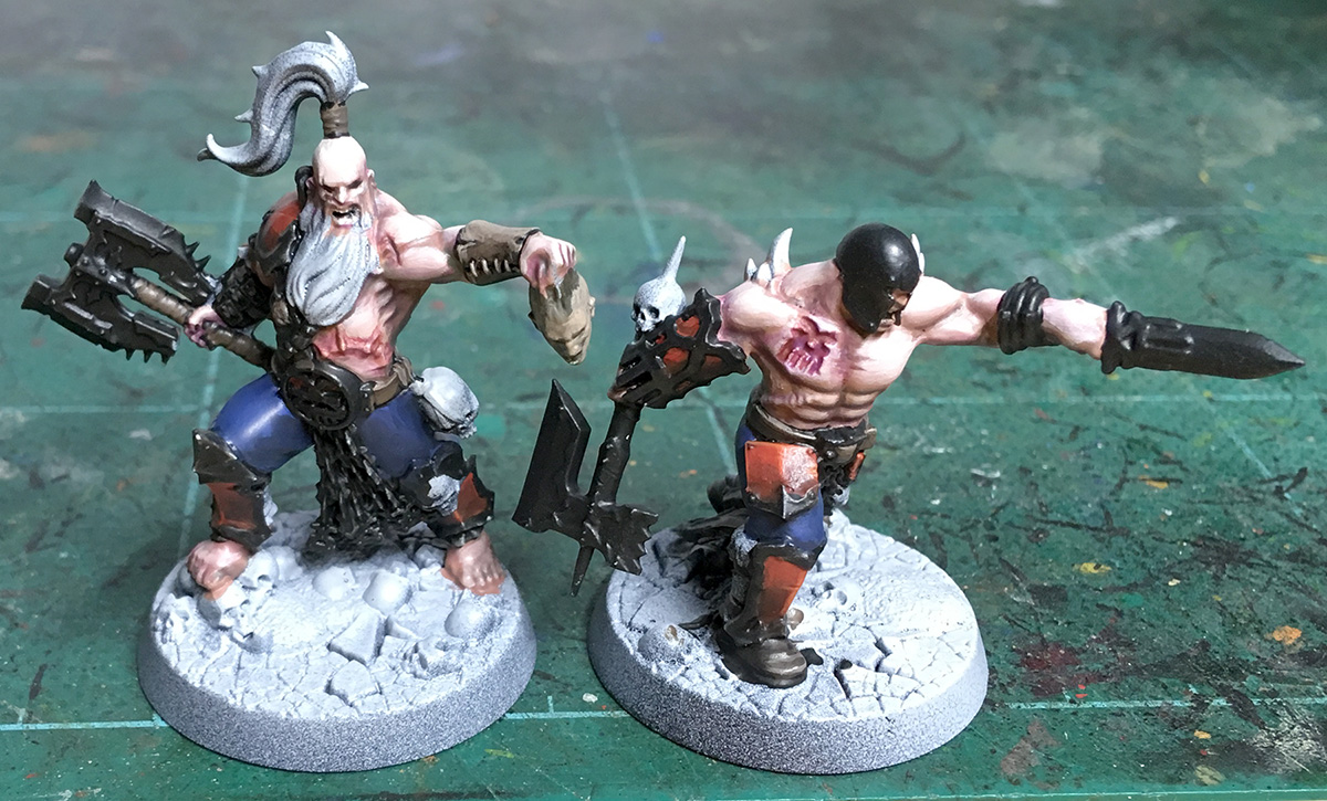 Garrek's Bloodreavers – painting WIP