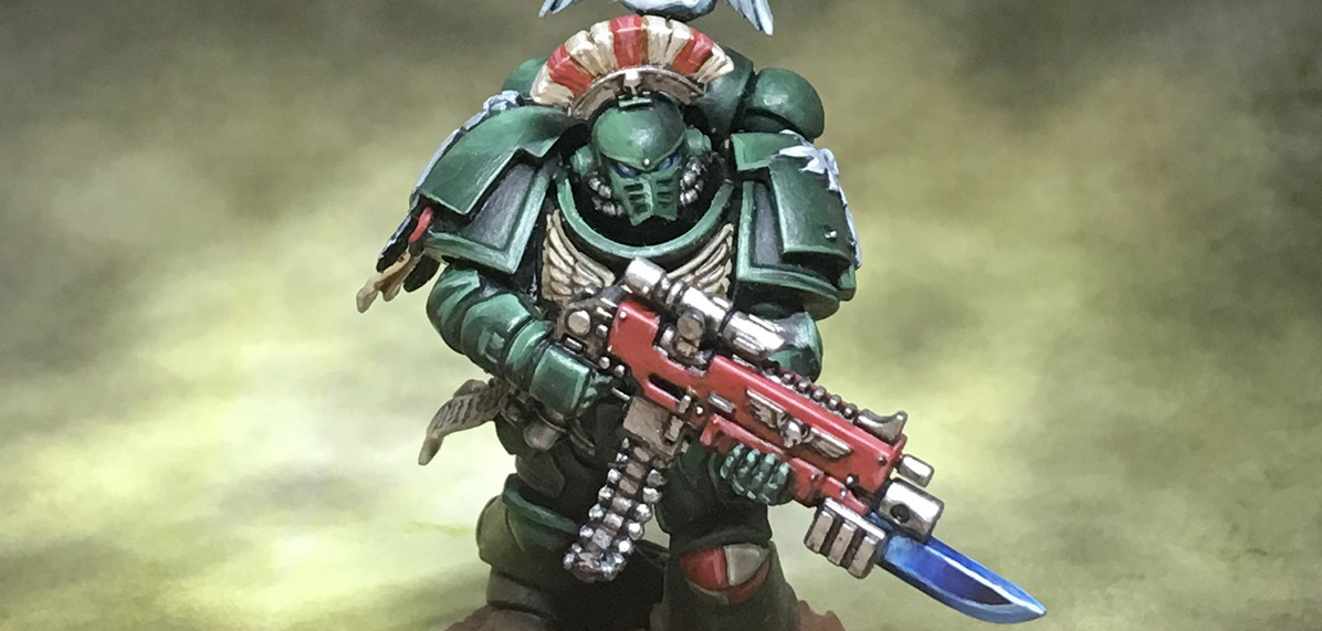 Dark Angels Primaris marine