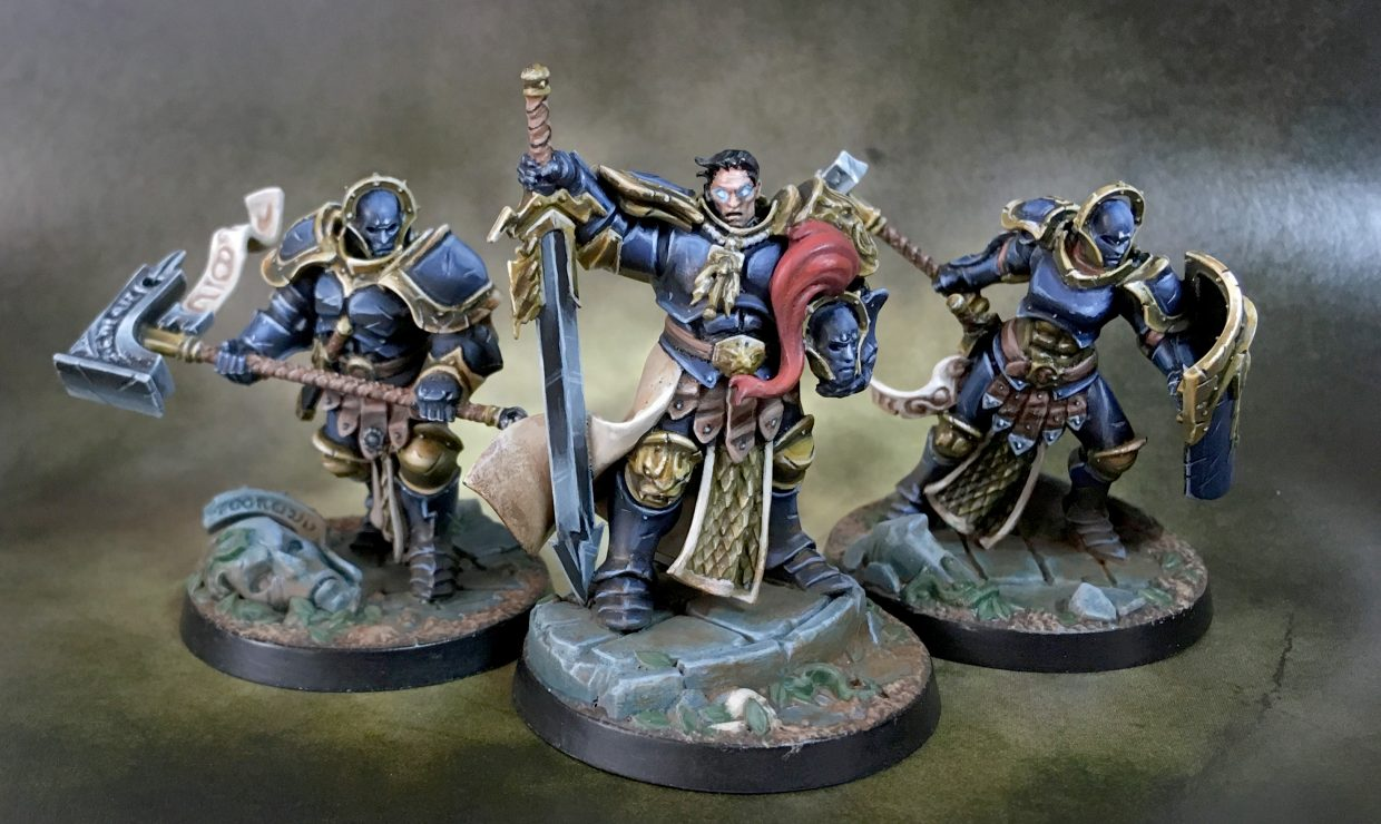 Steelheart's Champions – painted Shadespire warband